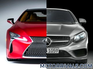 2017 Lexus LC 500 vs 2016 Mercedes-Benz S-Class Coupe