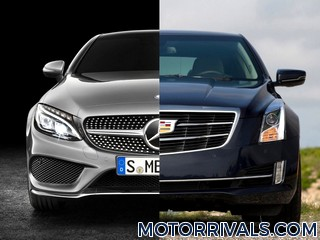 2017 Mercedes-Benz C-Class Coupe vs 2016 Cadillac ATS Coupe