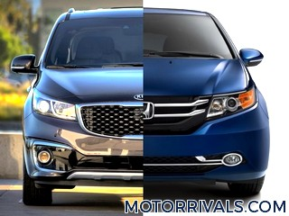 2016 kia sedona vs 2016 toyota sienna. Black Bedroom Furniture Sets. Home Design Ideas