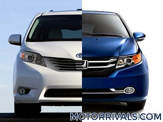2017 chrysler pacifica vs 2016 honda odyssey. Black Bedroom Furniture Sets. Home Design Ideas