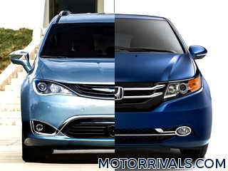 2017 Chrysler Pacifica vs 2016 Honda Odyssey