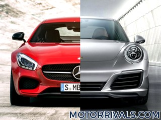 2016 Mercedes-AMG GT vs 2016 Porsche 911 Carrera