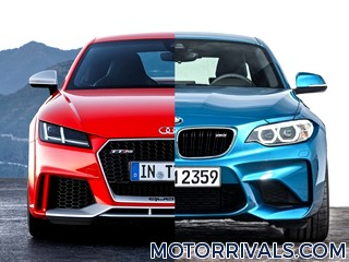 2017 Audi TT RS vs 2016 BMW M2