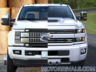 2017 Ford F-Series Super Duty vs 2017 Chevrolet Silverado HD